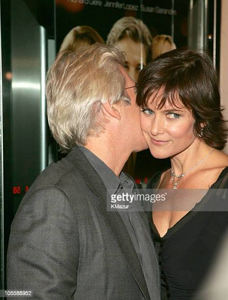 Richard Gere and Carey Lowell during Shall We Dance New York Premiere Inside Arrivals at Paris Theater in New York City New York United States