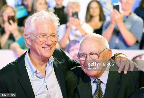 """Richard Gere and his father, Homer George Gere arrive to the """"Three Christs"""" premiere - 2017 TIFF - Premieres, Photo Calls and Press Conferences held..."""