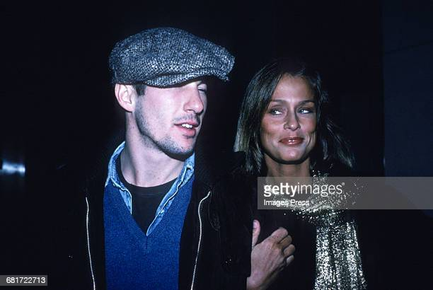 Richard Gere and Lauren Hutton circa 1980 in New York City