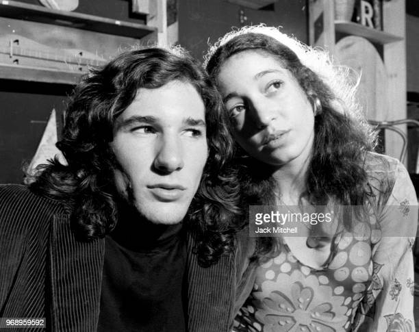 Richard Gere and Vicki Sue Robinson in Long Time Coming Long Time Gone on Broadway in November 1971.