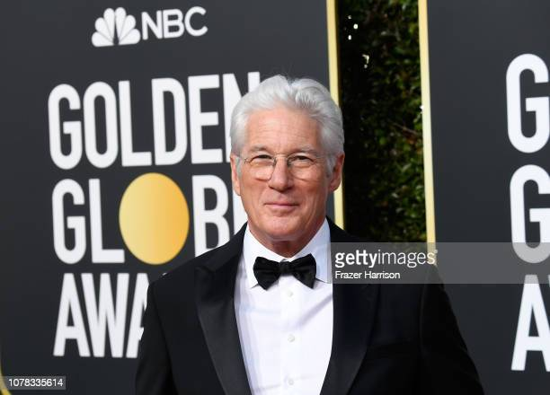 Richard Gere attends the 76th Annual Golden Globe Awards at The Beverly Hilton Hotel on January 6, 2019 in Beverly Hills, California.