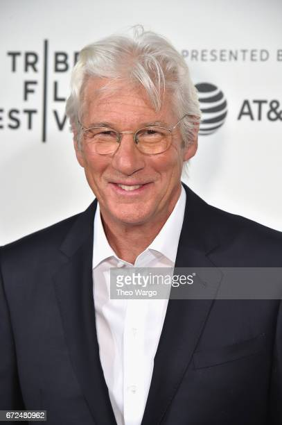 Richard Gere attends The Dinner Premiere at BMCC Tribeca PAC on April 24 2017 in New York City