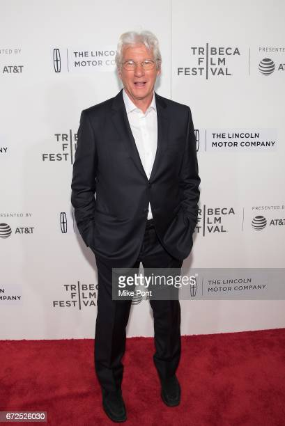 Richard Gere attends 'The Dinner' Premiere during the 2017 Tribeca Film Festival at BMCC Tribeca PAC on April 24 2017 in New York City