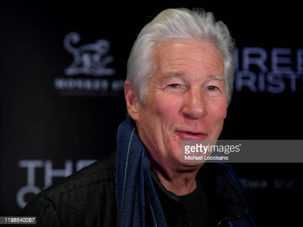 """Richard Gere attends the IFC And The Cinema Society Host A Screening Of """"Three Christs"""" at Regal Essex Crossing on January 09, 2020 in New York City."""