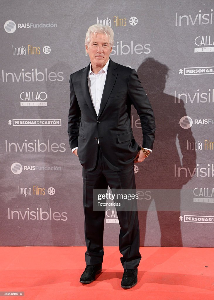 'Invisibles' Madrid Premiere