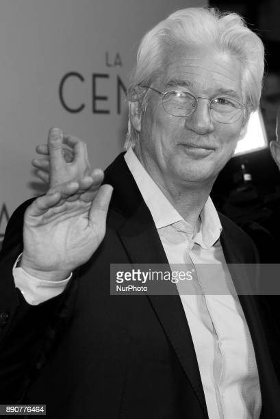 Richard Gere attends the 'La Cena' premiere at the Capitol cinema on December 11 2017 in Madrid Spain