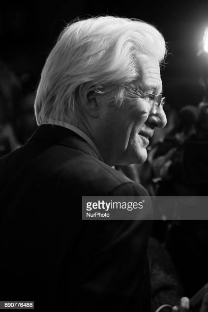 Richard Gere attends the 'The Dinner' movie premiere at 'Capitol Cinema' in Madrid on Dec 11 2017