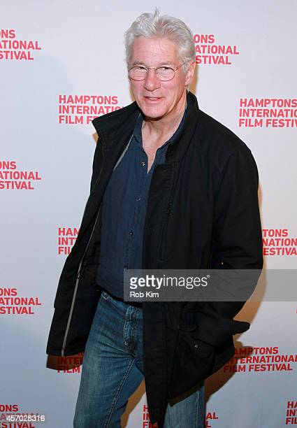 Richard Gere attends the 'Time Out of Mind' premiere during the 2014 Hamptons International Film Festival on October 10 2014 in East Hampton New York