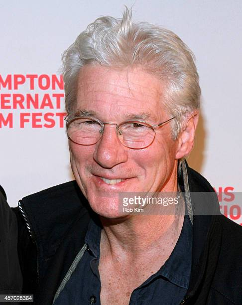 Richard Gere attends the Time Out of Mind premiere during the 2014 Hamptons International Film Festival on October 10 2014 in East Hampton New York