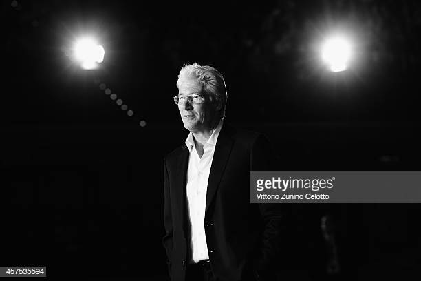 Richard Gere attends the 'Time Out of Mind' Red Carpet during the 9th Rome Film Festival on October 19 2014 in Rome Italy