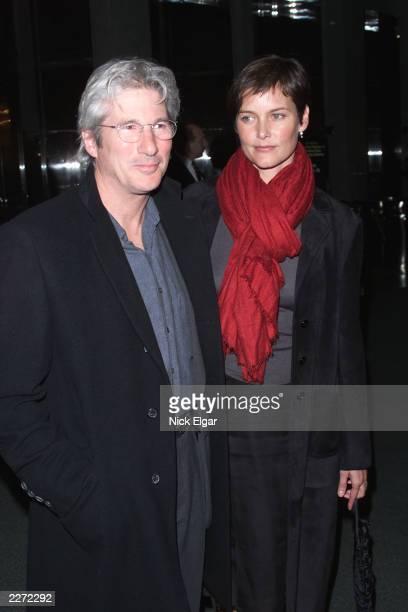 Richard Gere Carey Lowell at the New York Film Critics Circle Awards Sunday January 14th 2001 Windows On The World New York City Photo Nick...