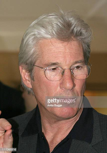 Richard Gere during 57th Berlinale International Film Festival Berlin, Cinema for Peace Press Conference Photocall - Februay 12, 2007 at Adlon Hotel...