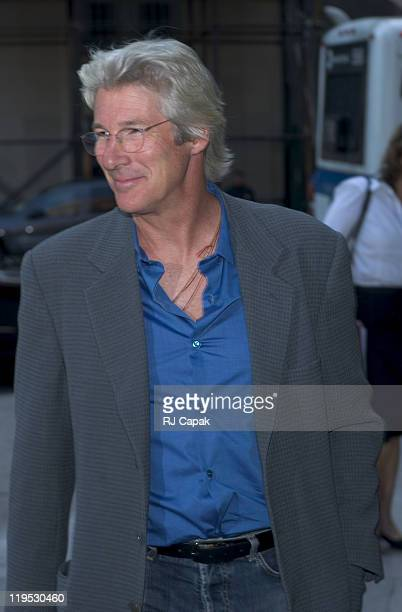 Richard Gere during Cooper Union and People for the American Way Sponsor Reading of the United States Constitution at The Cooper Union in New York...