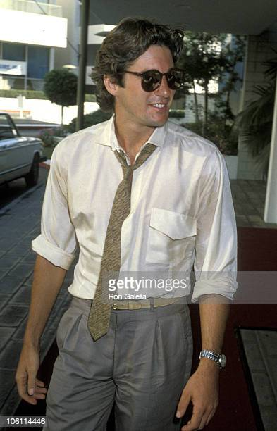 Richard Gere during Hollywood Foreign Press Club August 3 1979 at Beverly Hilton Hotel in Beverly Hills California United States