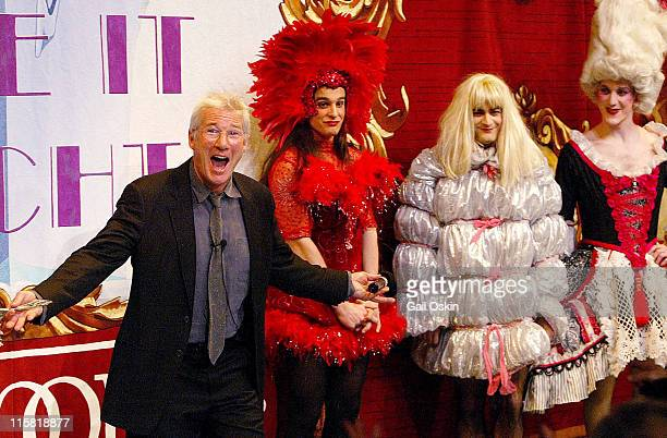 Richard Gere during Richard Gere is Named Hasty Pudding Theatricals' 2006 Man of the Year at Harvard University in Cambridge Massachusetts United...