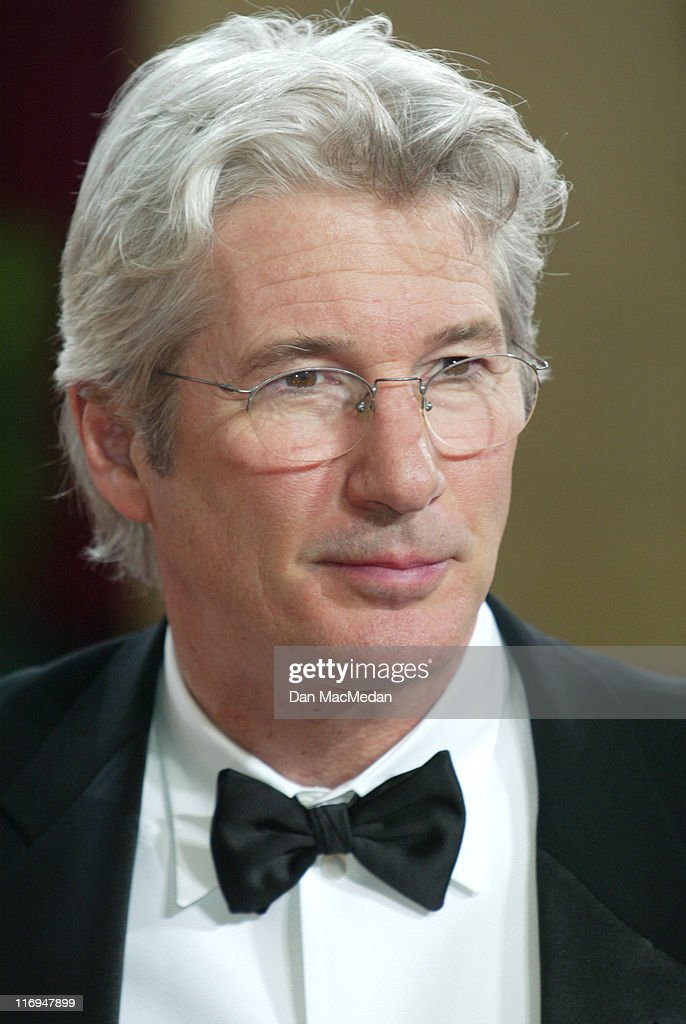 Richard Gere during The 75th Annual Academy Awards - Arrivals at The Kodak Theater in Hollywood, California, United States.