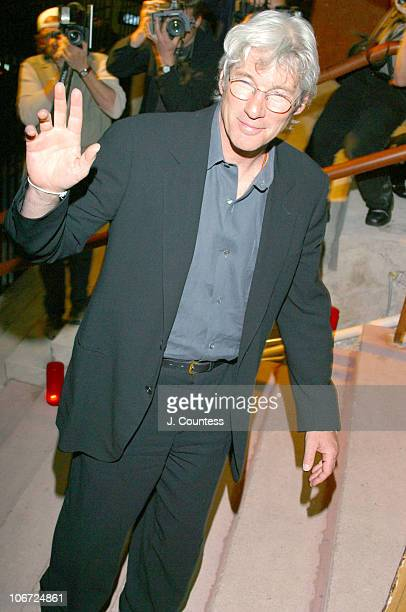 Richard Gere during Timba Loca - A Night of Dancing, Music and Latin fun to benefit the Continuum Center of Health and Healing at Beth Israel at...