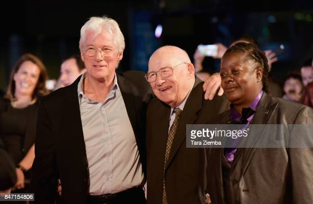 Richard Gere, Homer George Gere and gurest attend the 'Three Christs' premiere during the 2017 Toronto International Film Festival at Roy Thomson...