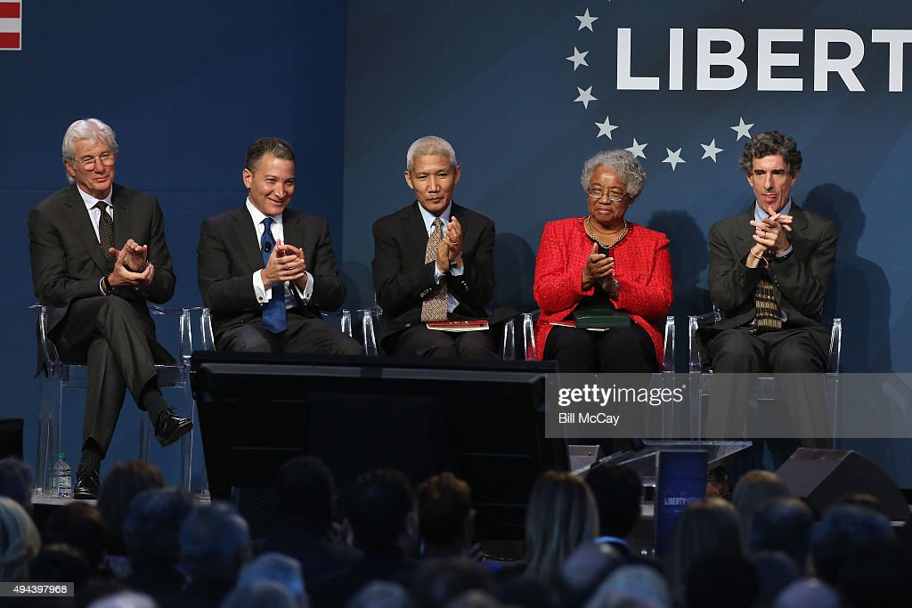 2015 Liberty Medal Ceremony : News Photo