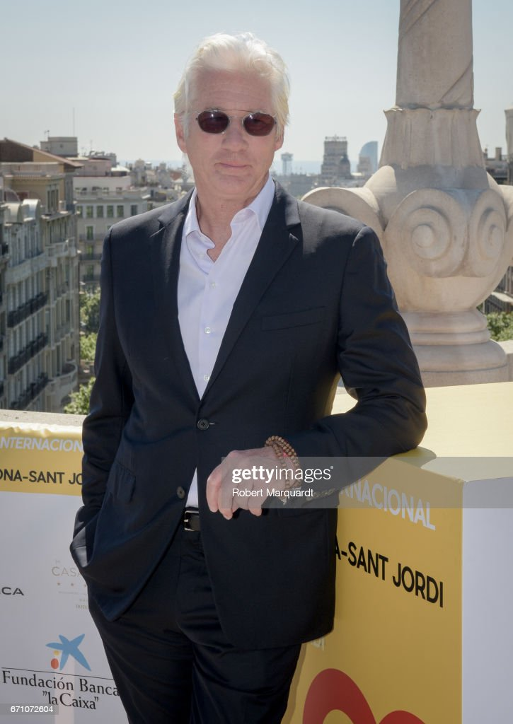 'Norman: The Moderate Rise and Tragic Fall of a New York Fixer' Photocall - Barcelona-Sant Jordi International Film Festival 2017