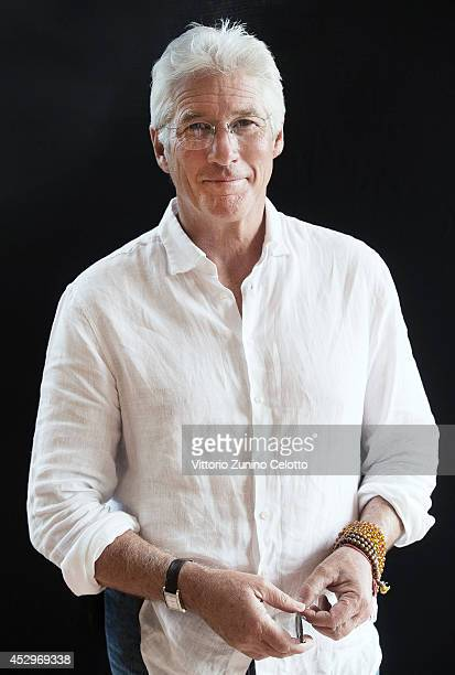 Richard Gere poses for a portrait at the Giffoni Film Festival on July 22 2014 in Giffoni Valle Piana Italy
