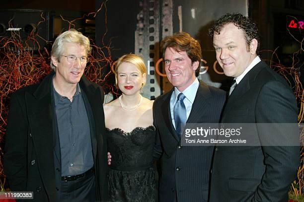 Richard Gere Renee Zellweger director / choreographer Rob Marshall and John C Reilly