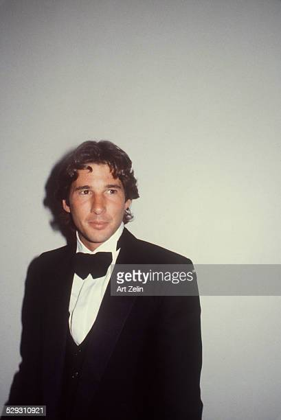 Richard Gere wearing a tux circa 1970 New York
