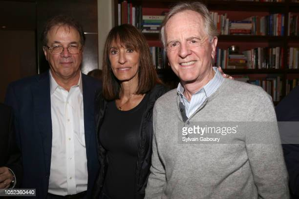 """Richard Gibbs, Dianne Sculley and John Sculley attend Book Launch Party For """"AI Superpowers"""" By Kai-Fu Lee, Hosted By Arianna Huffington at Private..."""