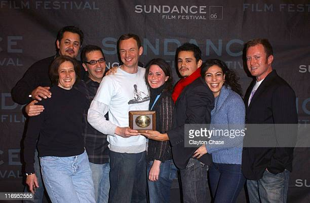 Richard Glatzer and Wash Westmoreland writers and producers of Quinceanera and winners of the Grand Jury Prize for Drama with Robin Katz Johnny...