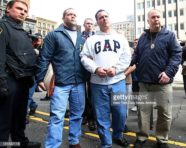 Richard Gotti and some 60 Gambino crime family members were arrested on federal racketeering charges murder and drug trafficking in Federal Court at...