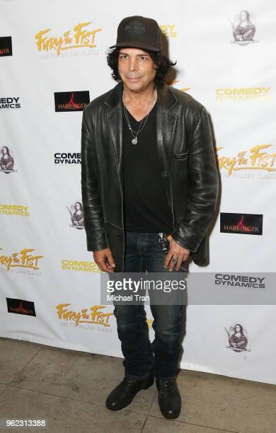 Richard Grieco attends the Los Angeles premiere of Comedy Dynamics' The Fury Of The Fist And The Golden Fleece held at Laemmle's Music Hall 3 on May...