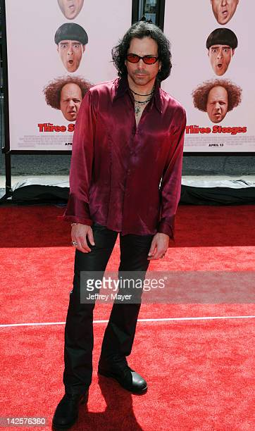 Richard Grieco attends the Los Angeles premiere of The Three Stooges on April 7 2012 in Hollywood United States