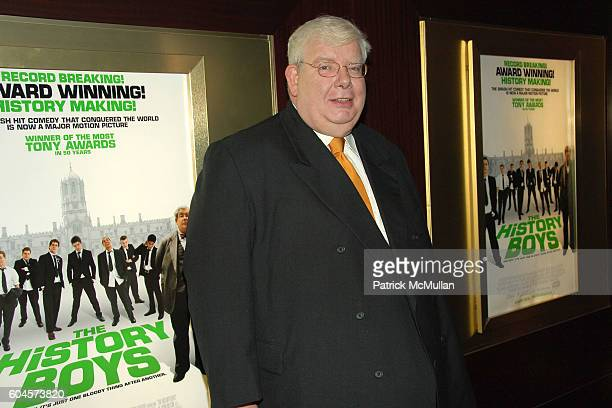 Richard Griffiths attends FOX SEARCHLIGHT PICTURES Special Screening of THE HISTORY BOYS at DOLBY Screening Room on November 7 2006 in New York City