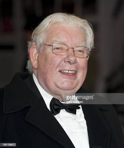 Richard Griffiths Attends The Royal Film Premiere Of 'Hugo' At The Odeon Leicester Square In London