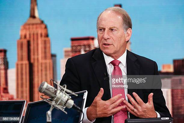 Richard Haass president of the Council on Foreign Relations speaks during a Bloomberg Television interview in New York US on Tuesday Aug 2 2016 Haass...