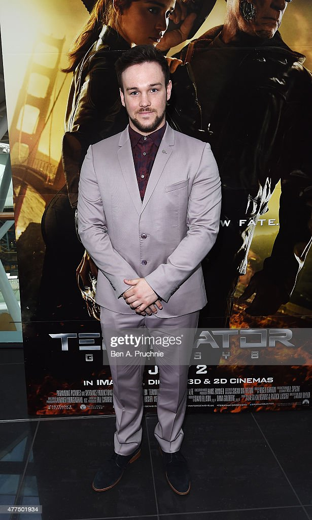 Richard Hadfield attends the Fan Footage Event of 'Terminator Genisys' at Vue Westfield on June 17, 2015 in London, England.