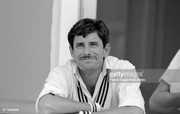Richard Hadlee of New Zealand during the 2nd Test match between England and New Zealand at Trent Bridge Nottingham 8th August 1986