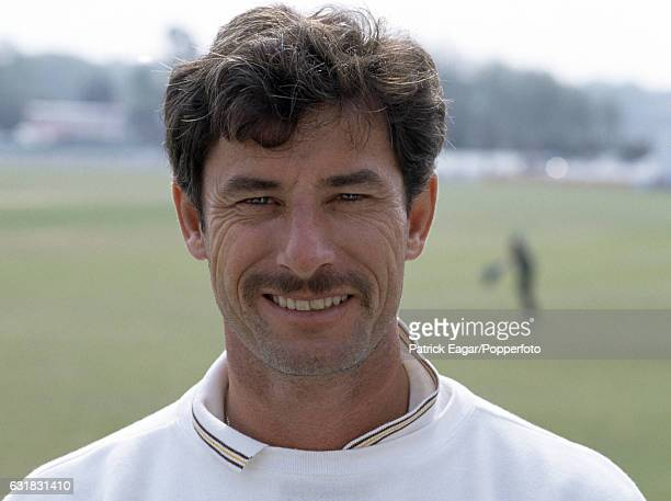 Richard Hadlee of New Zealand during the tour match between Worcestershire and New Zealand at New Road Worcester 12th May 1990