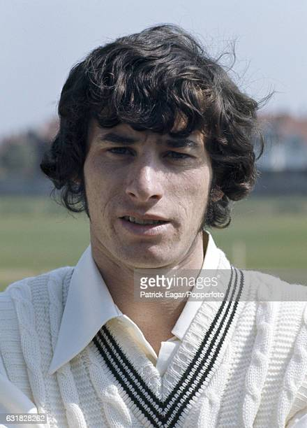Richard Hadlee of New Zealand during the tour match between DH Robins' XI and New Zealand at The Saffrons Eastbourne 24th April 1973