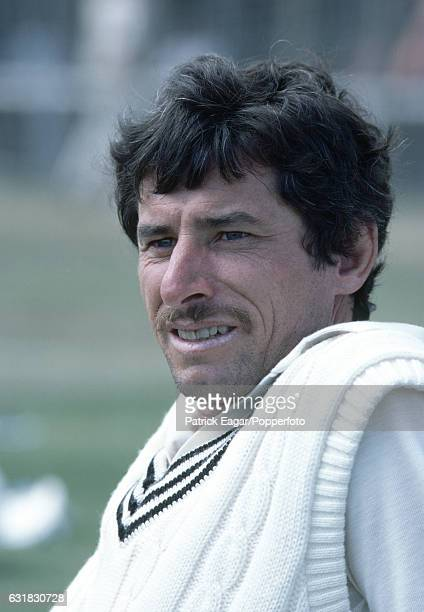Richard Hadlee of New Zealand during the tour of New Zealand by England circa February 1984