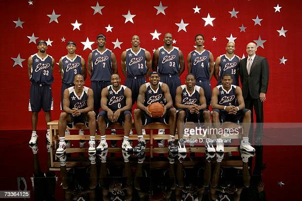 Richard Hamilton, Caron Butler, Chauncey Billups, Jermaine O'Neal, Gilbert Arenas, Dwight Howard, LeBron James, Shaquille O'Neal, Dwyane Wade, Chris...