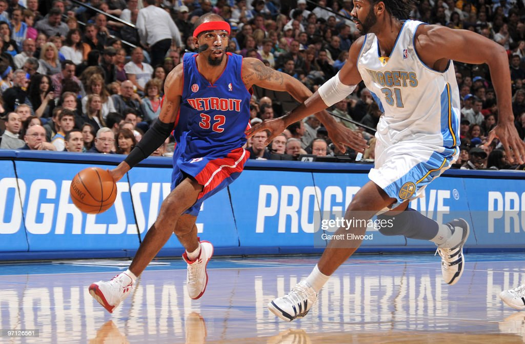 Detroit Pistons v Denver Nuggets