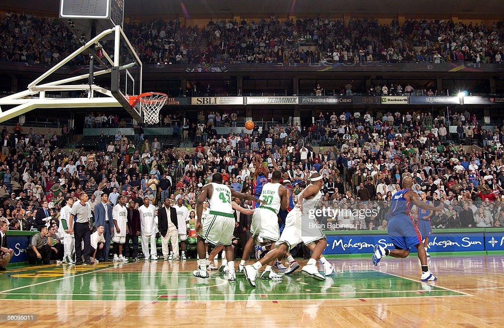 Detroit Pistons v Boston Celtics : News Photo