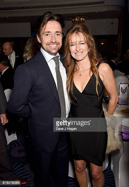 Richard Hammond and Amanda Etheridge attend the Daily Mirror Pride of Britain Awards in Partnership with TSB at The Grosvenor House Hotel on October...