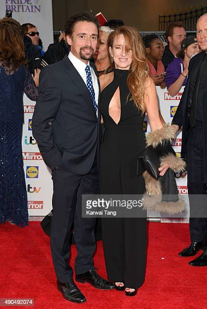 Richard Hammond and Amanda Etheridge attend the Pride of Britain awards at The Grosvenor House Hotel on September 28, 2015 in London, England.