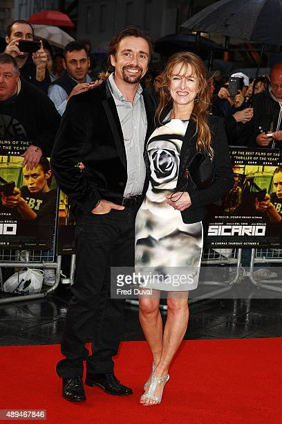 "Richard Hammond and Amanda Etheridge attend the ""Sicario UK Premiere"" at The Empire Cinema on September 21, 2015 in London, England."
