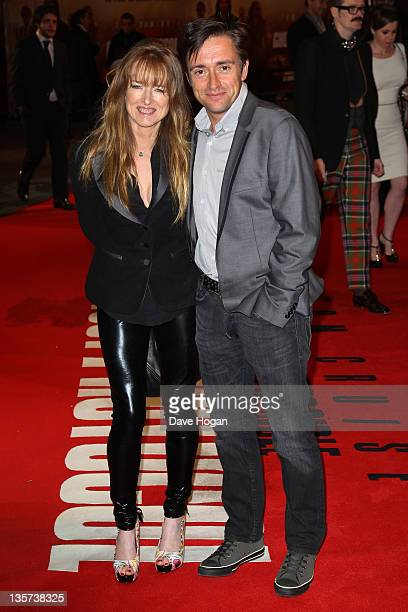 Richard Hammond and Amanda Hammond attend the UK Premiere of Mission Impossible Ghost Protocol at The BFI IMAX on December 13 2011 in London United...