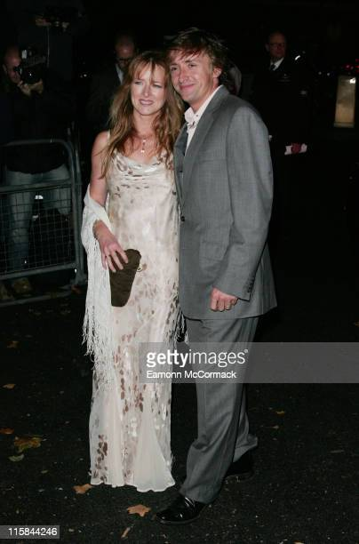Richard Hammond and guest attend BSQUAREB The Berkeley Square Ball at Berkeley Square September 27 2007 in London England