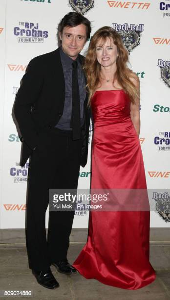 Richard Hammond and his wife Amanda Etheridge arriving for the RPJ Crohns Foundation Rock Ball, at The Hurlingham Club in west London.