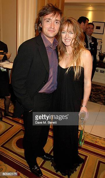 Richard Hammond and Mindy Hammond arrive at the Galaxy Book Awards at the Grosvenor House Hotel on April 9 2008 in London England